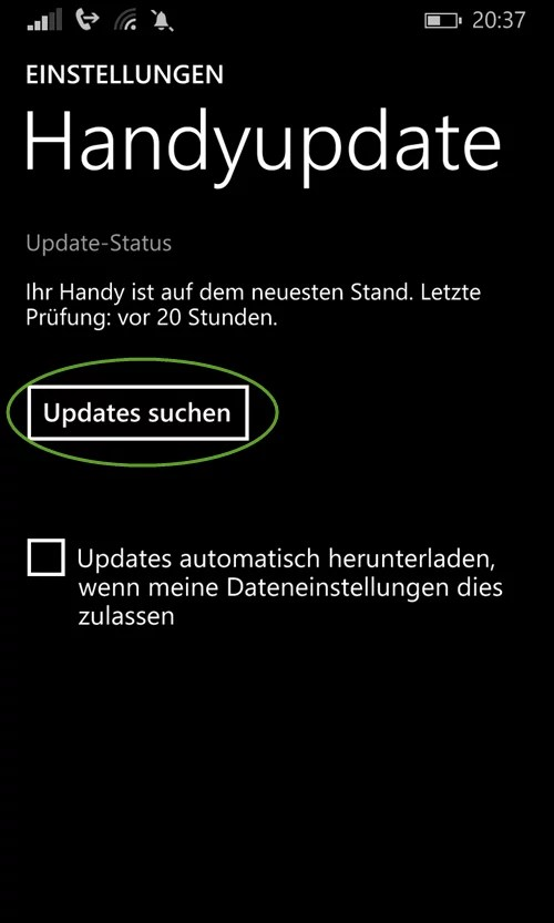 windows-phone-handyupdate-suchen