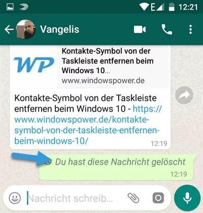 Whatsapp Verschickt Nachrichten Von Alleine