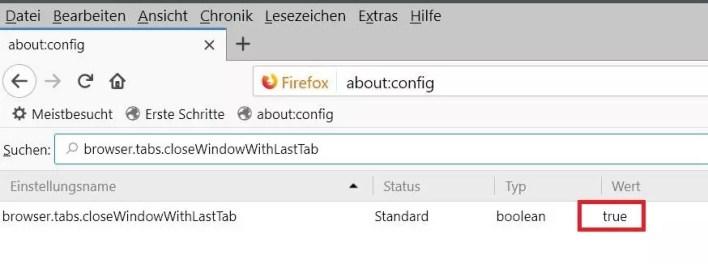config-wert-standard