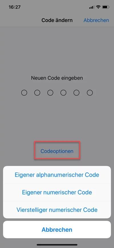vierstelliger-numerischer-code-eigener-alphanumerischer-code