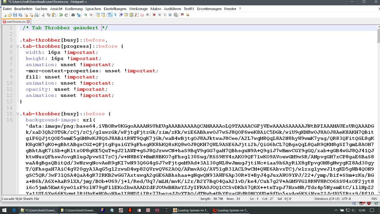 einzelner code