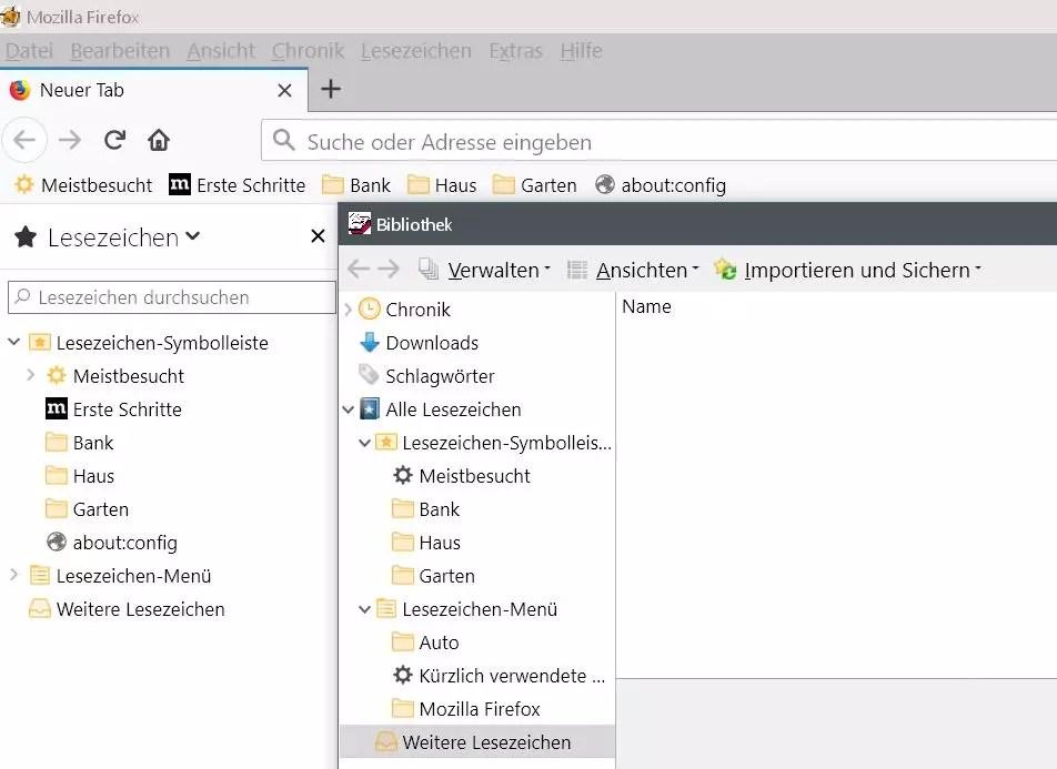 Firefox Den Lesezeichenordnern ein anderes Icon vergeben 7
