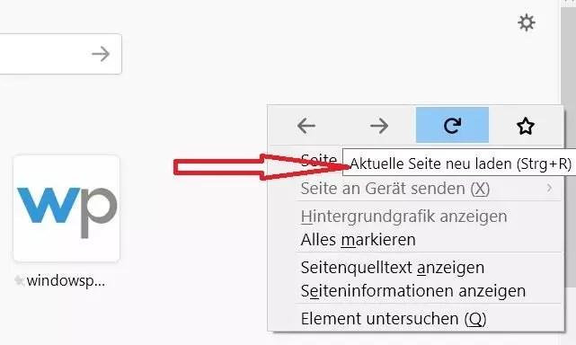Firefox Tooltip im Rechtsklick Kontextmenü deaktivieren 0