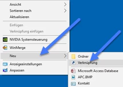 desktop verknuepfung