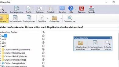 Doppelte Dateien finden auf dem Computer externe Festplatten USB-Sticks 0