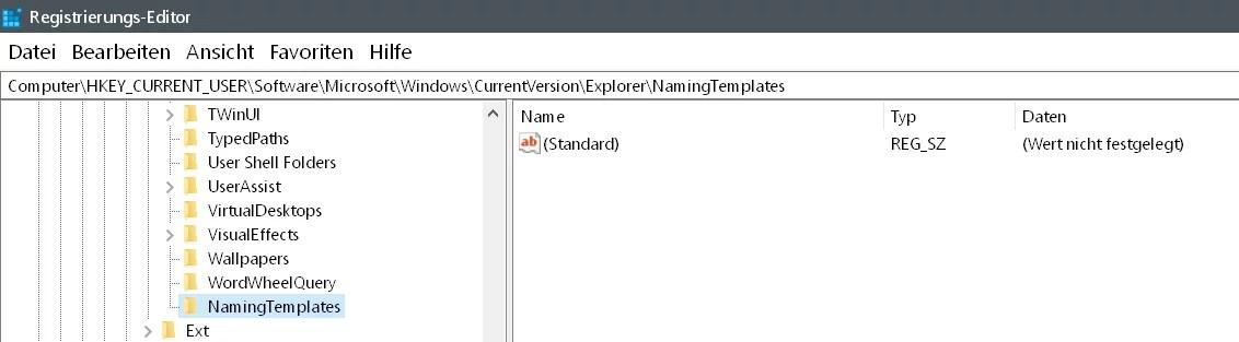 """Windows 10 Den Zusatz """"Verknüpfung"""" entfernen auf dem Desktop 6"""
