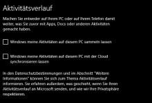 Photo of Windows 10 Aktivitätsverlauf aktivieren/deaktivieren