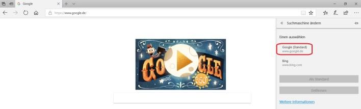 google als standard