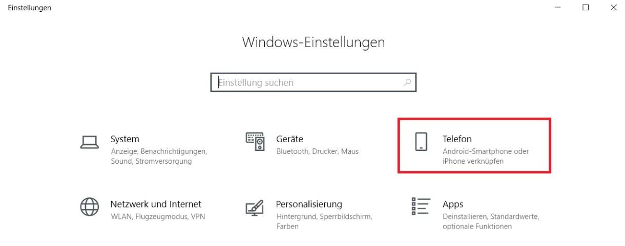Windows 10 Telefon deaktivieren 0