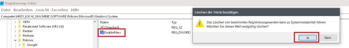 Windows 10 Telefon deaktivieren 11