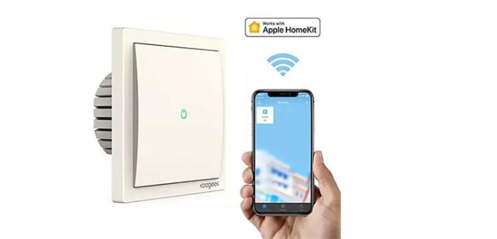 koogeek dodocool angebote z b koogeek wifi smart lichtschalter f r 19 99 statt 39 99. Black Bedroom Furniture Sets. Home Design Ideas