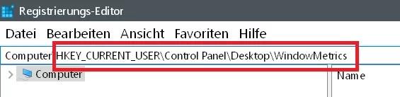 Windows 10 Abstand der Icons auf dem Desktop ändern 4