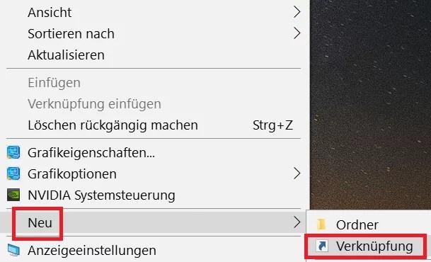 Edge Browser eine Desktopverknüpfung erstellen 4