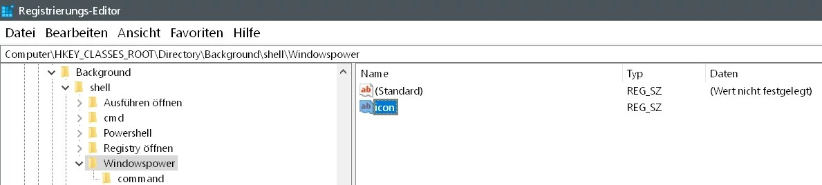 Windows 10 beliebige Webseite aus dem Desktop Kontextmenü starten 12