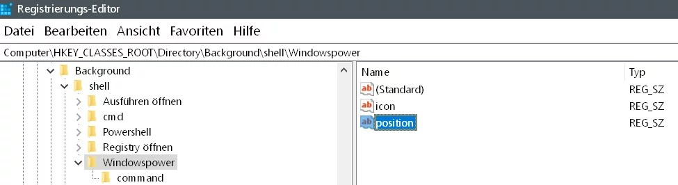 Windows 10 beliebige Webseite aus dem Desktop Kontextmenü starten 15
