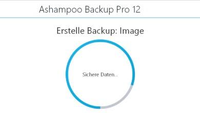 Ashampoo Backup Pro 12  Datensicherung – mein erster Eindruck 0