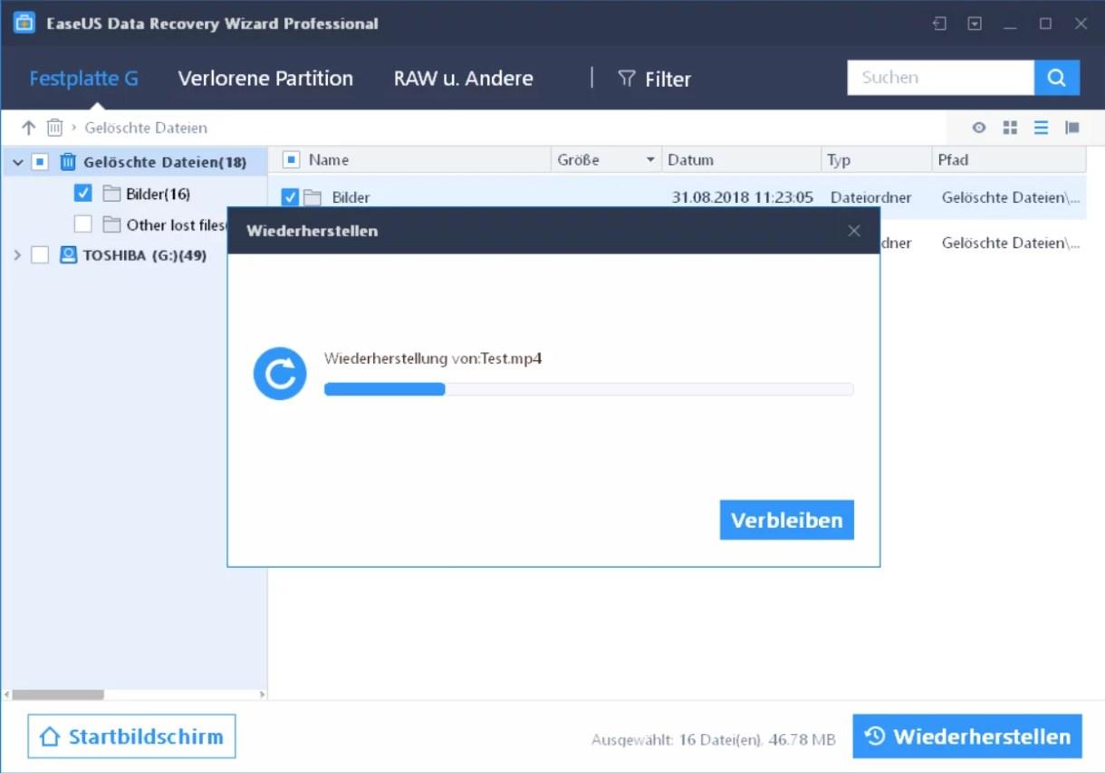 EaseUS Data Recovery Wizard 12.6 ausprobiert – Wir verlosen 5 Lizenzen 12
