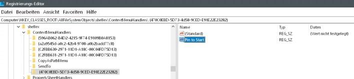 470c0ebd 5d73 4d58 9ced e91e22e23282 pin to start erstellt