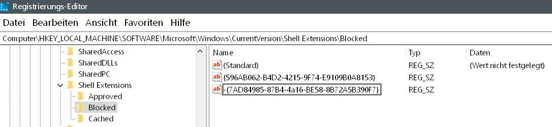 Wiedergabe auf Gerät entfernen Windows 10 10