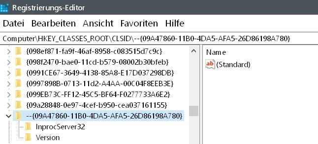 Mit Windows Defender überprüfen aus dem Kontextmenü entfernen 7