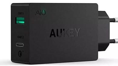 AUKEY USB C Ladegerät Duale Ports USB für 5,99€ (statt 20€) 0
