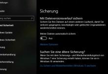 Photo of Windows 10 automatische Sicherung einrichten