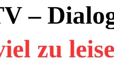 Photo of Schlechte Tonqualität im TV