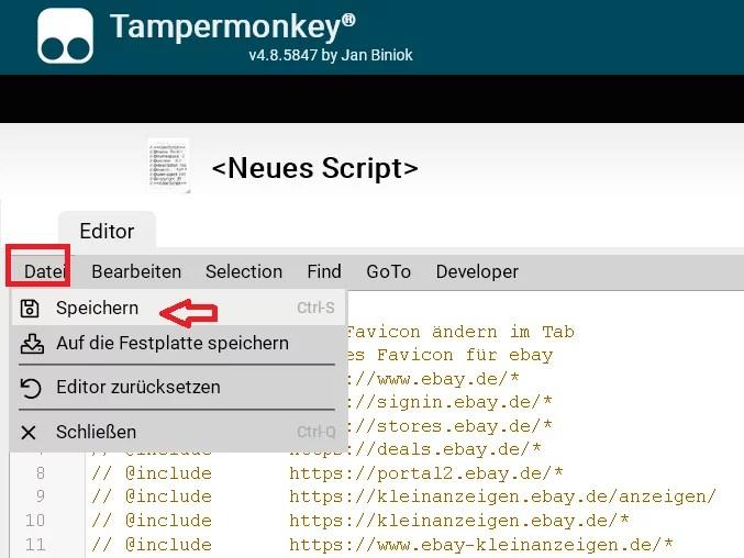 Webseitensymbol im Tab ändern im Firefox 5