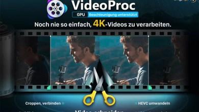 Mit VideoProc 4K Videos bearbeiten und umwandeln – so einfach & umfassend wie noch nie 0