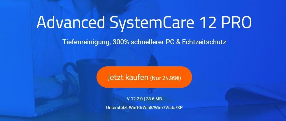 Advanced SystemCare v12 Pro – Wir verlosen 3 Lizenzen 0
