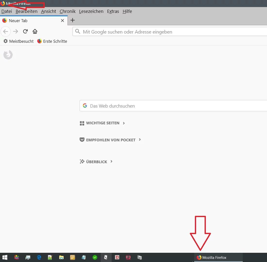 Firefox Icon vom geöffneten Browser ändern 0