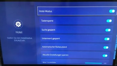 Hisense ULED TV Hotel Mode aktivieren 0