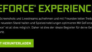 Photo of Speicherplatz freigeben nach Nvidia Update mit GeForce® Experience