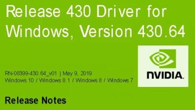 Photo of Nvidia-GeForce-Treiber Version 430.64 für Windows erschienen