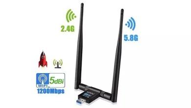 PiAEK WLAN Adapter 1200 Mbps 5G /2,4G für 11,99€ (statt 20€) 0