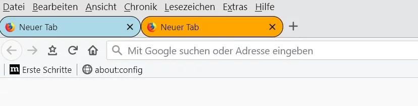Firefox 67 – Abgerundete Tabs per CSS – Code 3