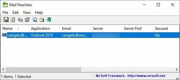 E-Mail Passwort