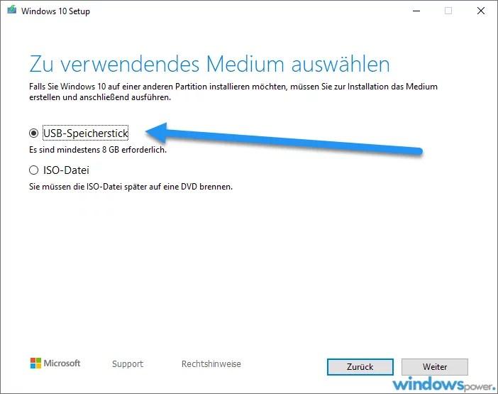 ISO-Datei auf USB-Stick