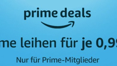 Photo of Amazon Prime Deals: Über 300 Filme für je 0,99€ leihen