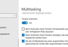Photo of Automatisches Andocken von Fenstern deaktivieren bei Windows 10