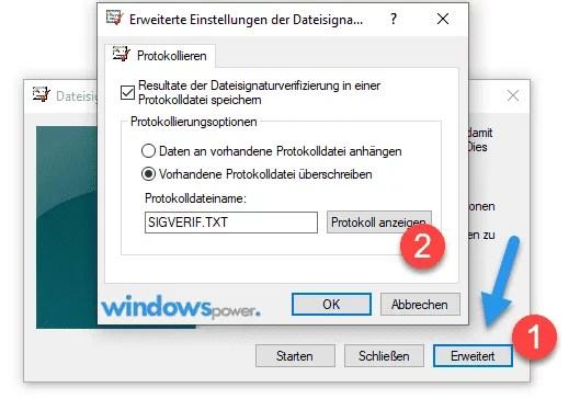 unsignierte treiber windows 10 finden