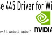 Photo of Nvidia-GeForce-Treiber Version 445.87