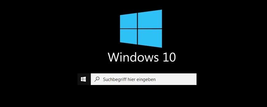windows 10 suchfeld