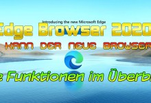 Photo of Edge Browser 2020 – Alle Funktionen, Speedtest etc.