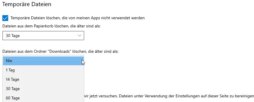 Photo of Download-Ordner automatisch leeren lassen bei Windows 10
