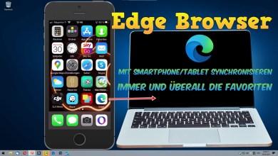 Photo of Edge Browser mit Smartphone oder Tablet synchronisieren
