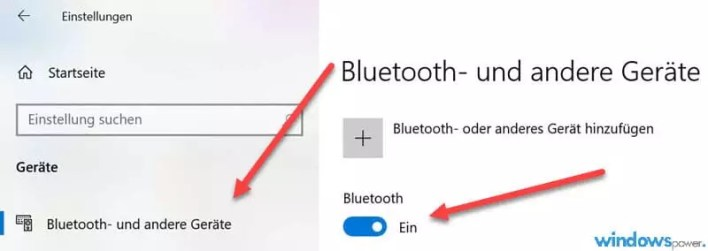 windows 10 bluetooth aktivieren