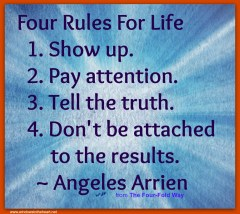 4 Rules for Life