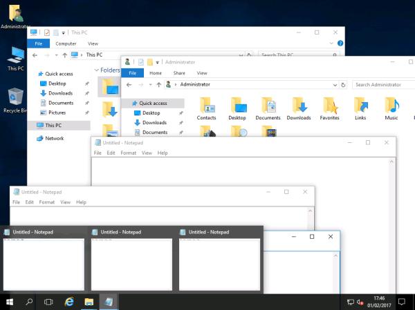 Taskbar Grouping – Windows 2016 & Wndows 2019 Workstation!