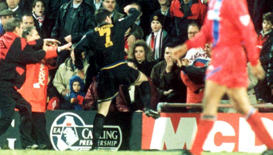 Eric cantona claimed his 'only regret' was that he didn't kick fan matthew simmons more during manchester united's 1995 clash with crystal. On This Day In Football January 25th Windrawwin Com